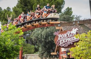 Pony Express Knott's Berry Farm