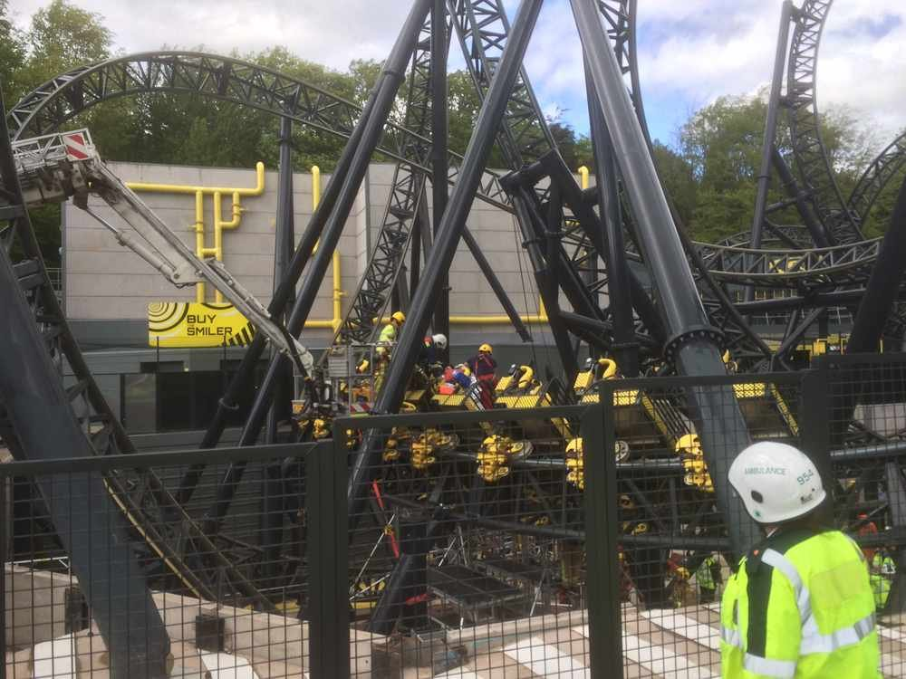 The Smiler Alton Towers Accident