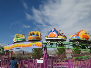 Spinning Coaster Western Playland