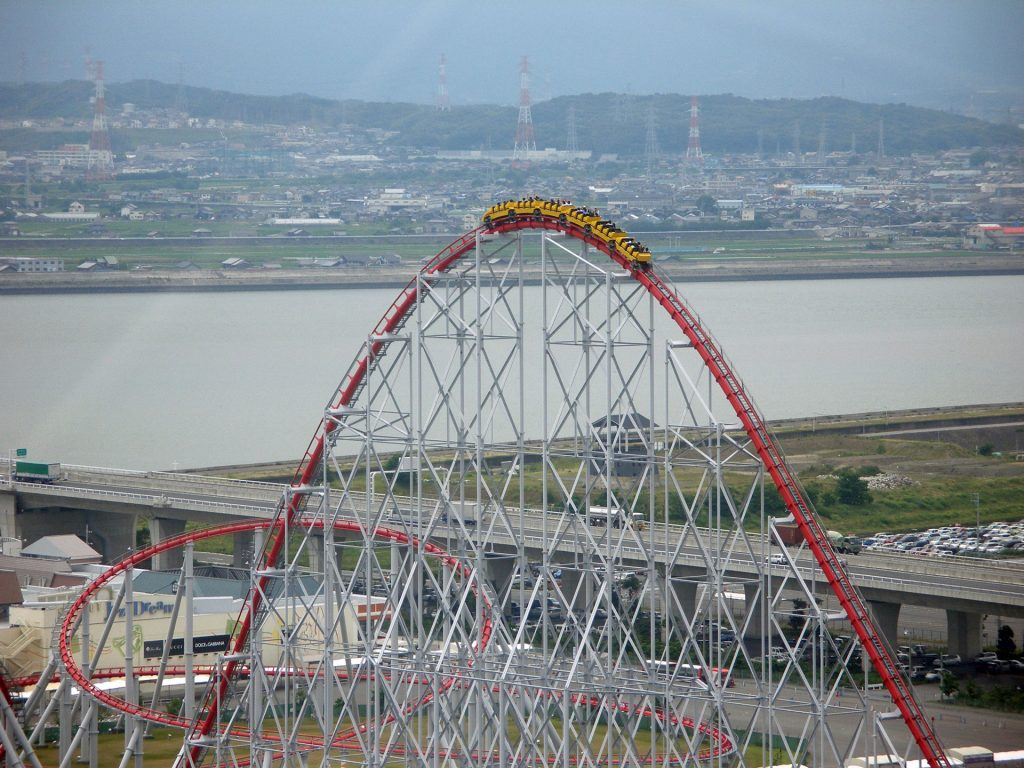 Steel Dragon 2000 Nagashima Spa Land