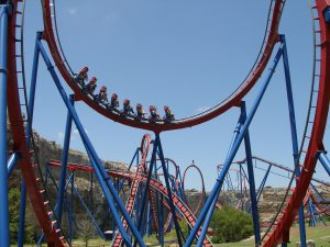 Superman Krypton Coaster Six Flags Fiesta Texas
