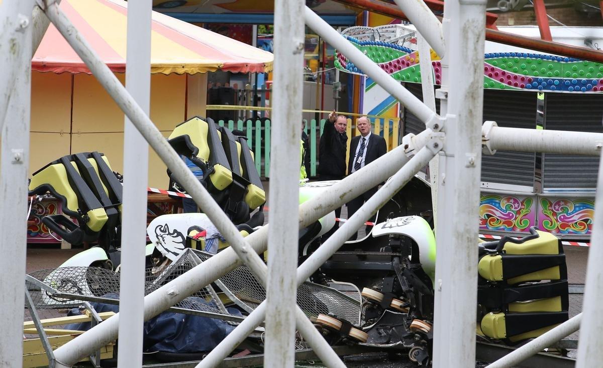 Tsunam M&Ds Scotland's Theme Park Accident