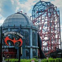 Batman & Robin: The Chiller Six Flags Great Adventure