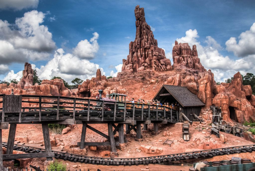 Big Thunder Mountain Railroad Magic Kingdom