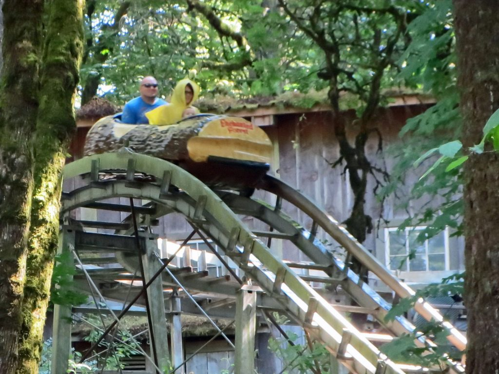 Big Timber Log Ride Enchanted Forest