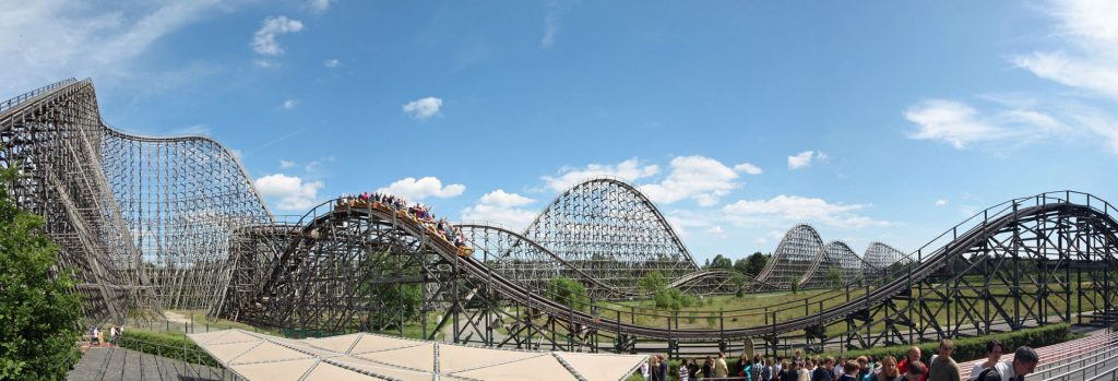 Colossus at Heide Park in Germany.