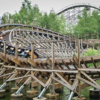 El Toro at Freizeitpark Plohn wooden coaster