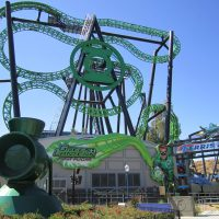 Green Lantern Six Flags Magic Mountain