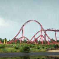 Huracan Belantis roller coaster