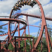 Iron World Six Flags Great America