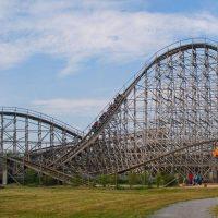 Mammut Erlebnispark Tripsdrill wooden roller coaster