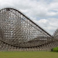 Troy Toverland wooden roller coaster