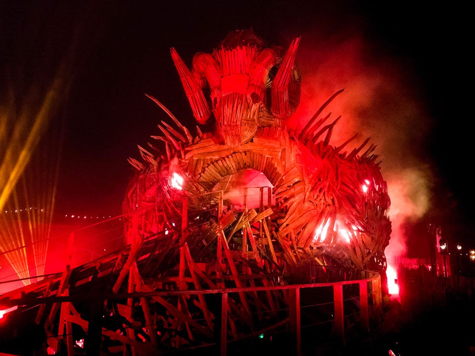 Review Wicker Man At Alton Towers