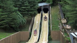 Dollywood's Mountain Slidewinder closed