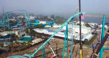 SeaWorld San Diego's Emperor topped off