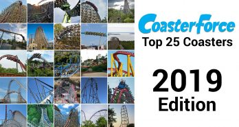 2019 CoasterForce Top 25