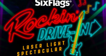 Darien Lake's Drive-In Laser Light Show
