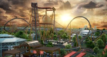 World's Steepest Dive Coaster for SFFT